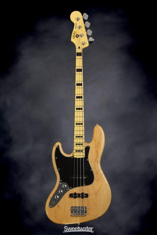 Squier Classic Vibe 70s Jazz Bass Natural Fender Jazz Bass Guitar Squier
