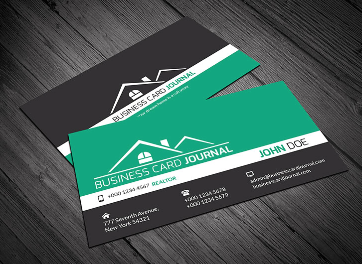 Real Estate Business Cards Can Be Tricky Printing Fly S Professionals Can Make You The Real Estate Business Cards Realtor Business Cards Modern Business Cards