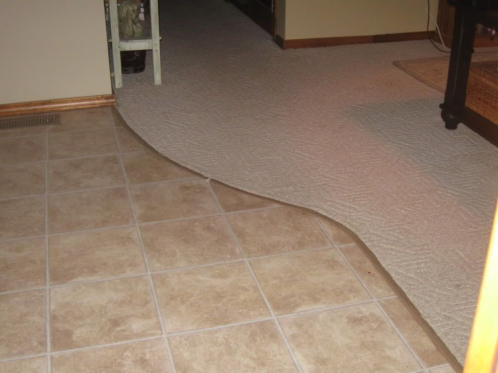 Vinyl tile to carpet transition google search floor vinyl vinyl tile to carpet transition google search floor vinyl pinterest vinyl tiles basements and basement repair dailygadgetfo Choice Image