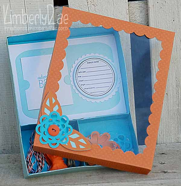 Baby Announcement Gift Box My Art Gallery Pinterest – Baby Announcement Boxes