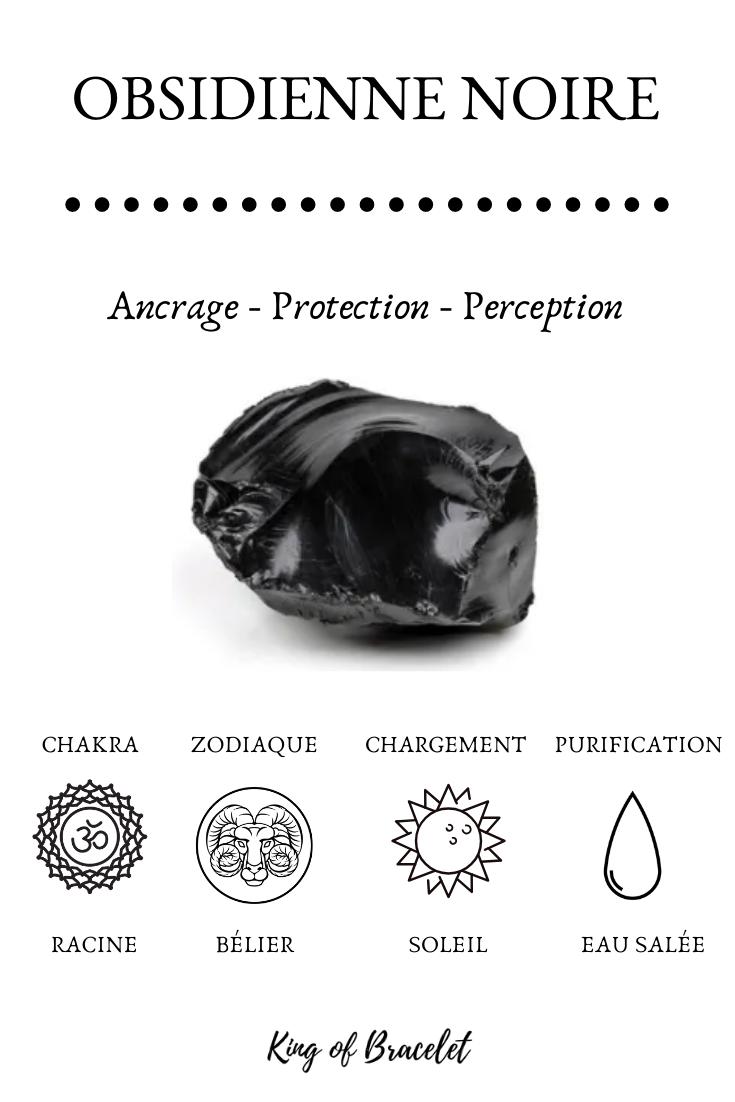 Obsidienne Noire - Vertus, Bienfaits et Propriétés en Lithothérapie #crystalhealing