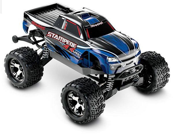 Stampede 4x4 Vxl 1 10 Scale Monster Truck With Tqi Traxxas Link
