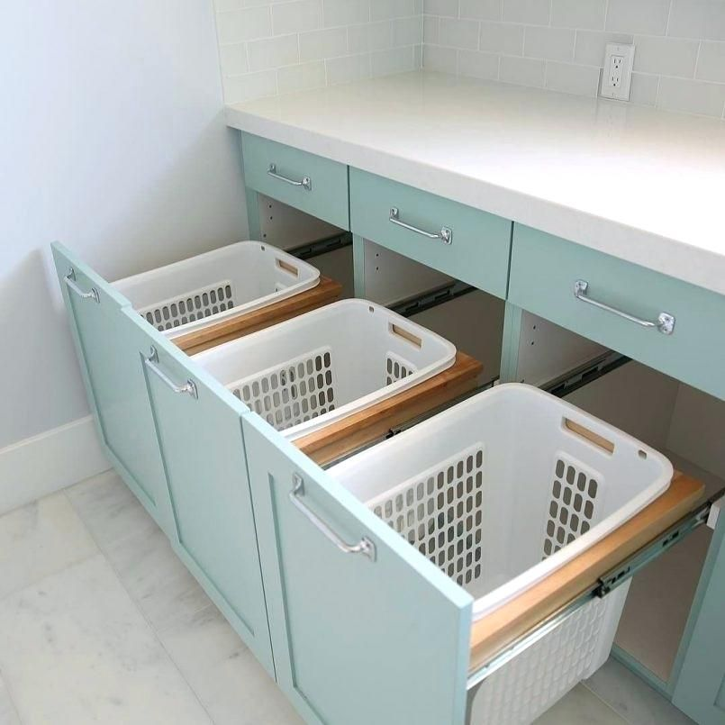 Tilt Out Laundry Hamper Ikea Pull Out Laundry Hamper Tilt Out Laundry Hamper Cabinet Pull Out Laundry Laundry Room Remodel Laundry Room Design Room Storage Diy