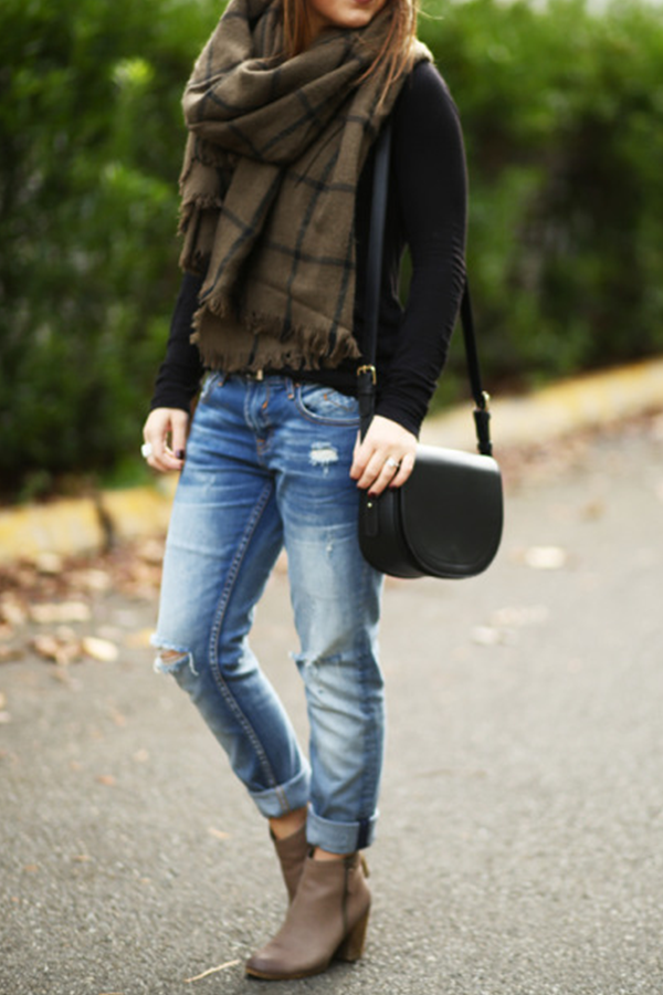 0d8ea6192ea5a1 How to Wear Ankle Boots with Jeans
