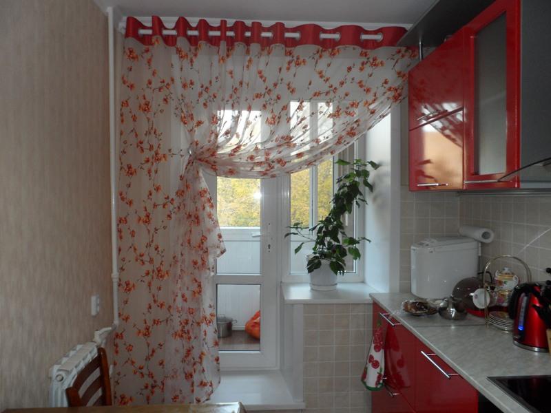 Как подобрать тюль на кухню? | Кухонные занавески ...