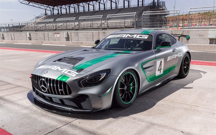 Telecharger Fonds D Ecran Mercedes Amg Gt4 2019 Voiture De Course