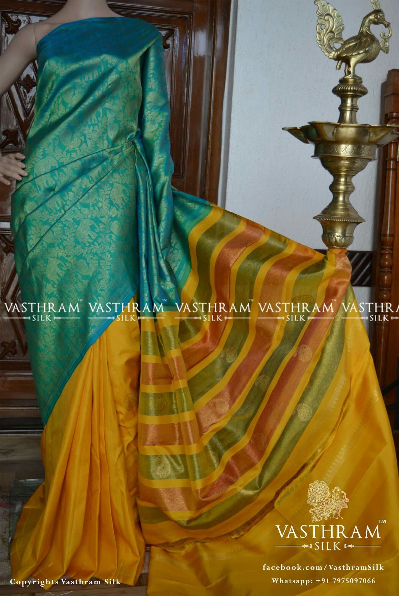 Kanchipuram silk Cost  inr Whatsapp    Wedding