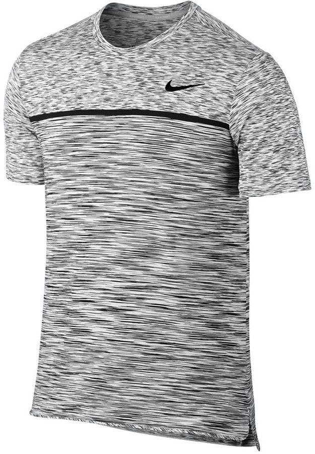 3760b317 Nike Men's Court Challenger Dri-fit Space-Dyed Tennis Shirt ...