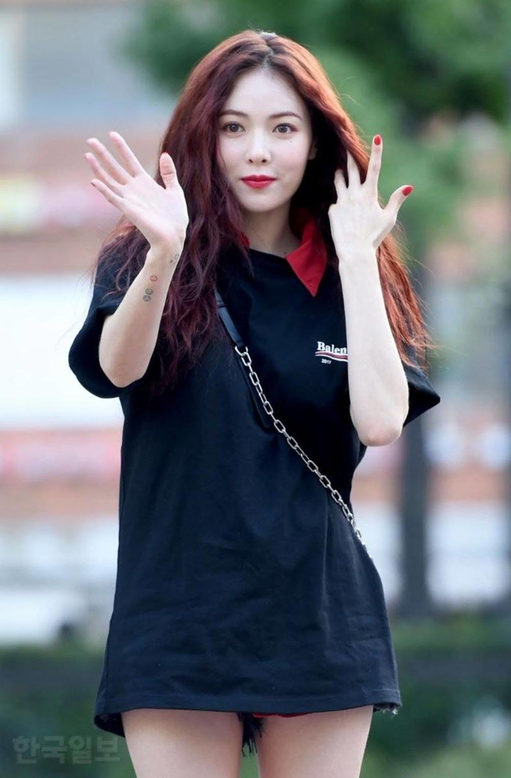 15 Female Idols Who Went For The No Pants Look Female Wonder Girls Members Kpop Fashion
