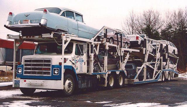 Pin On Oldies Auto Transporter