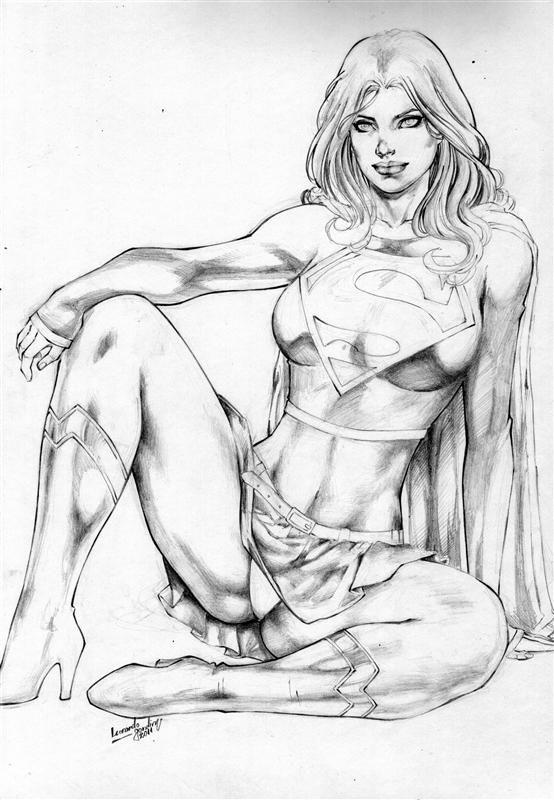 Sexy girls drawings #7