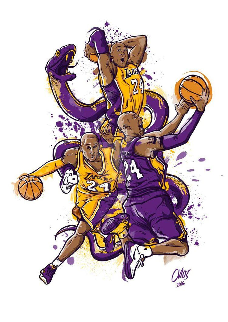 Black Mamba Bryant Basketball Kobe Bryant Wallpaper Kobe Bryant Nba