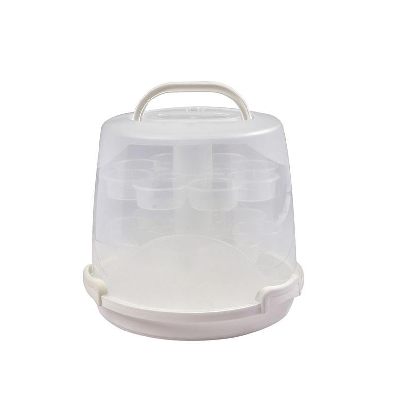disposable bundt cake carrier