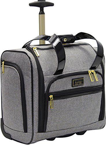 dd822007cae3 Nicole Miller NY Luggage Jolene Wheeled Under Seat Bag (Black ...