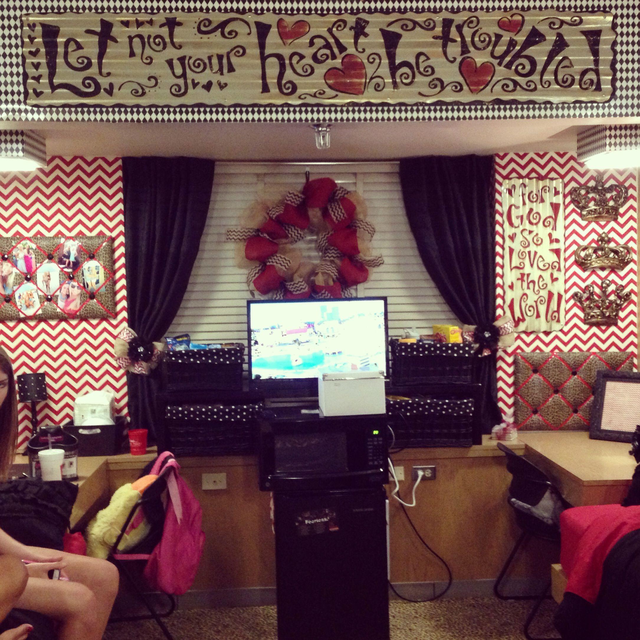 Texas Tech Stangel Hall Dorm Room