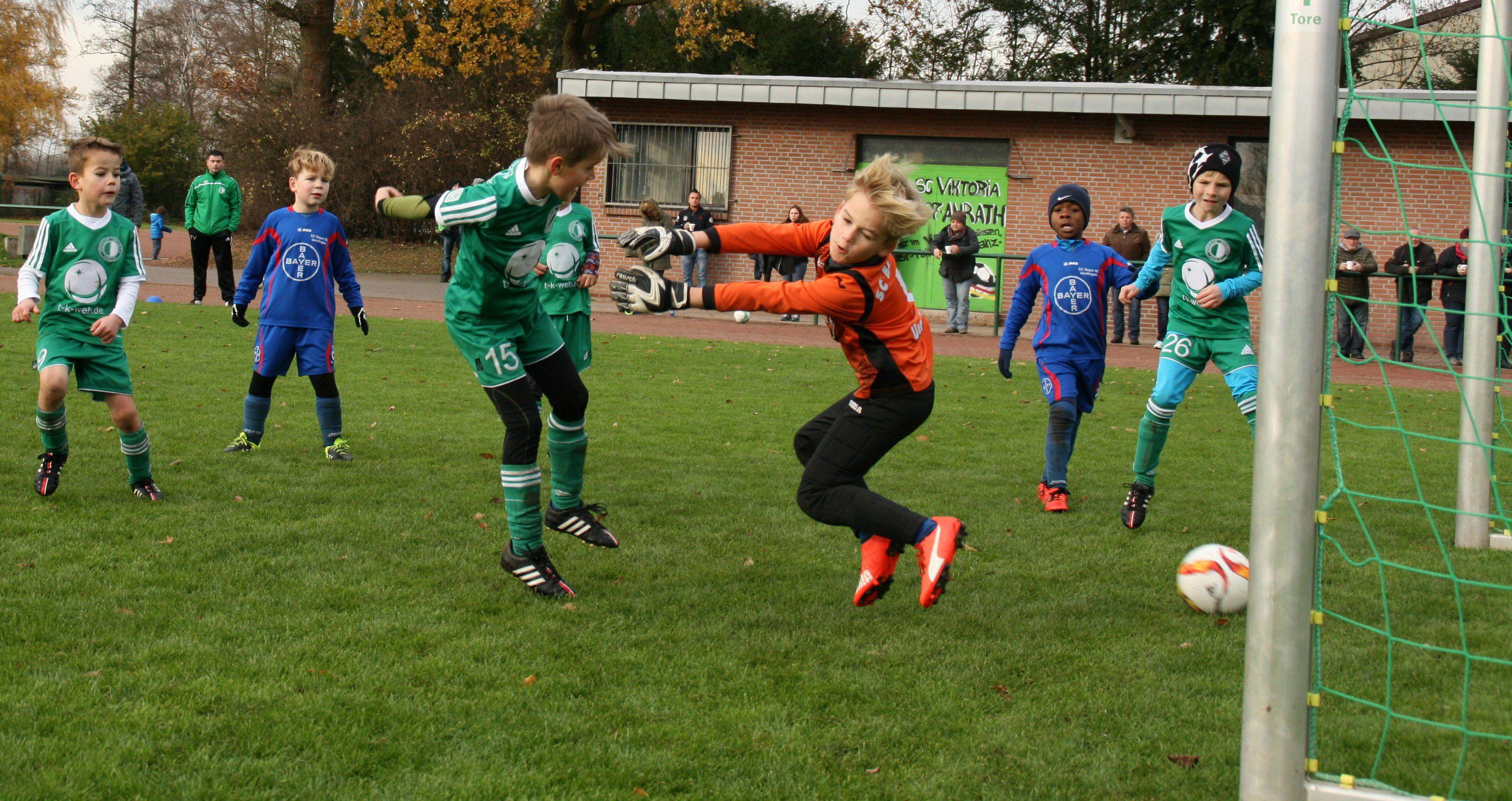 Das Freundschaftsspiel zu Hause gegen Bayer Uerdingen haben wir 8:1 gewonnen. Mehr unter vajg08.com
