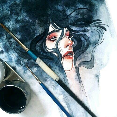Drawings Watercolor IllustrationWatercolor Paintings TumblrWatercolor