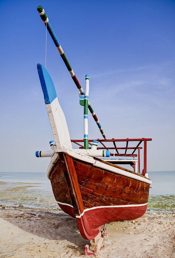 Qatar Wakra Dhow Boat 02 By Giardqatar Boat Egypt Culture Qatar