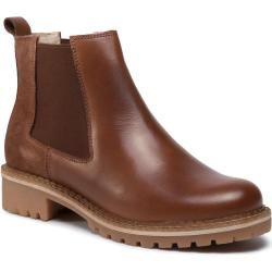 Kurze dunkelbraune Stiefel aus Leder (37,38,40,41,42) ManfieldManfield #combs