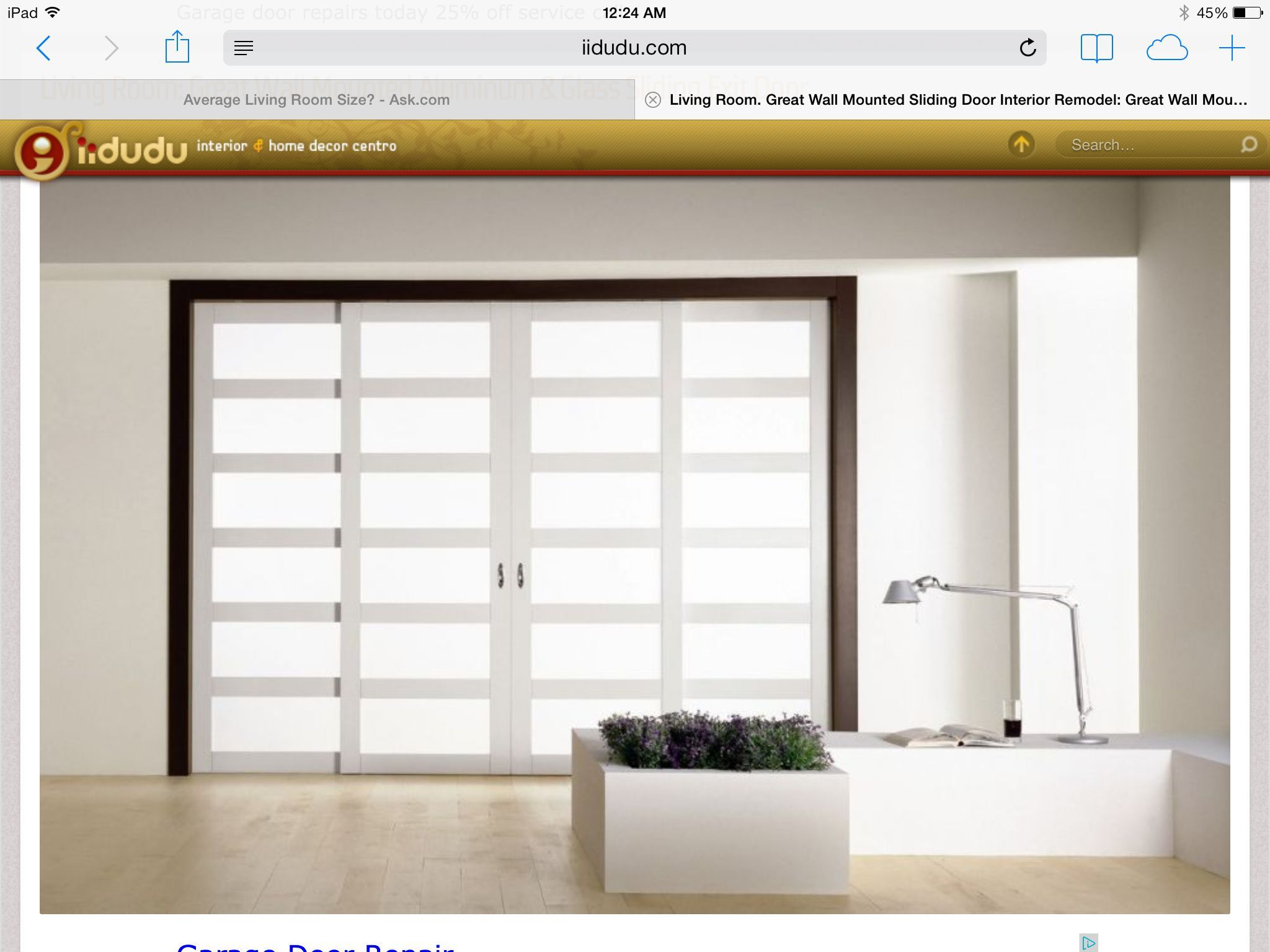 Office doors in new basement slidingroomdivider room divider