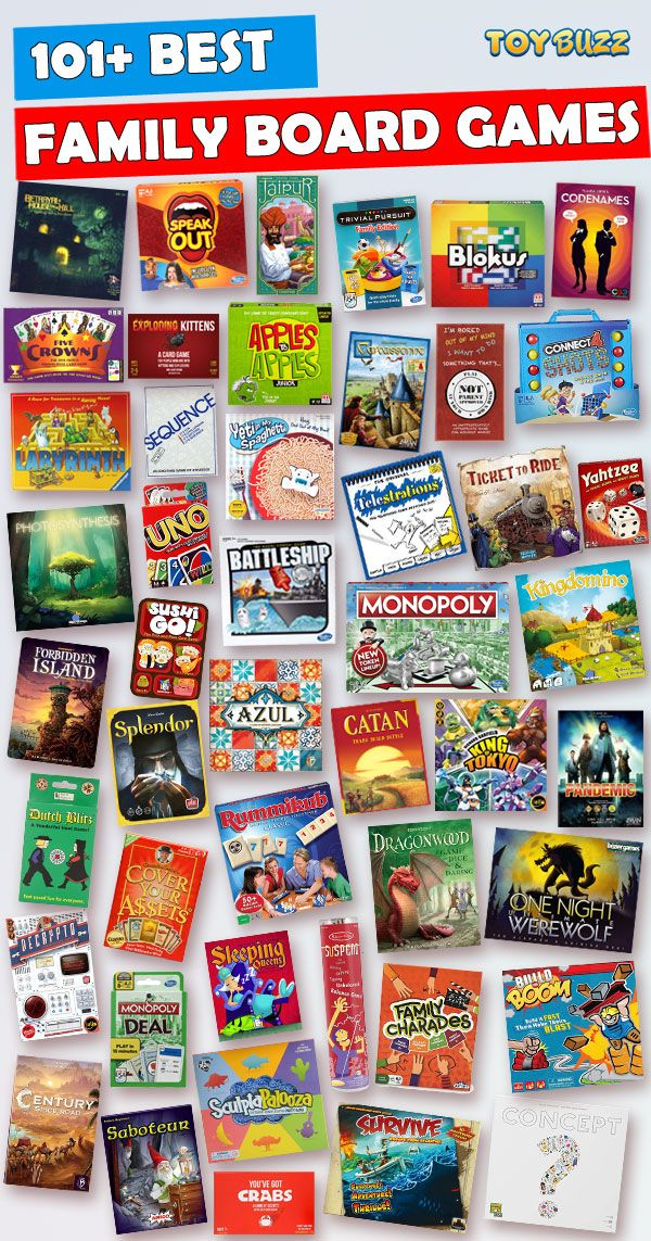 family night top games for