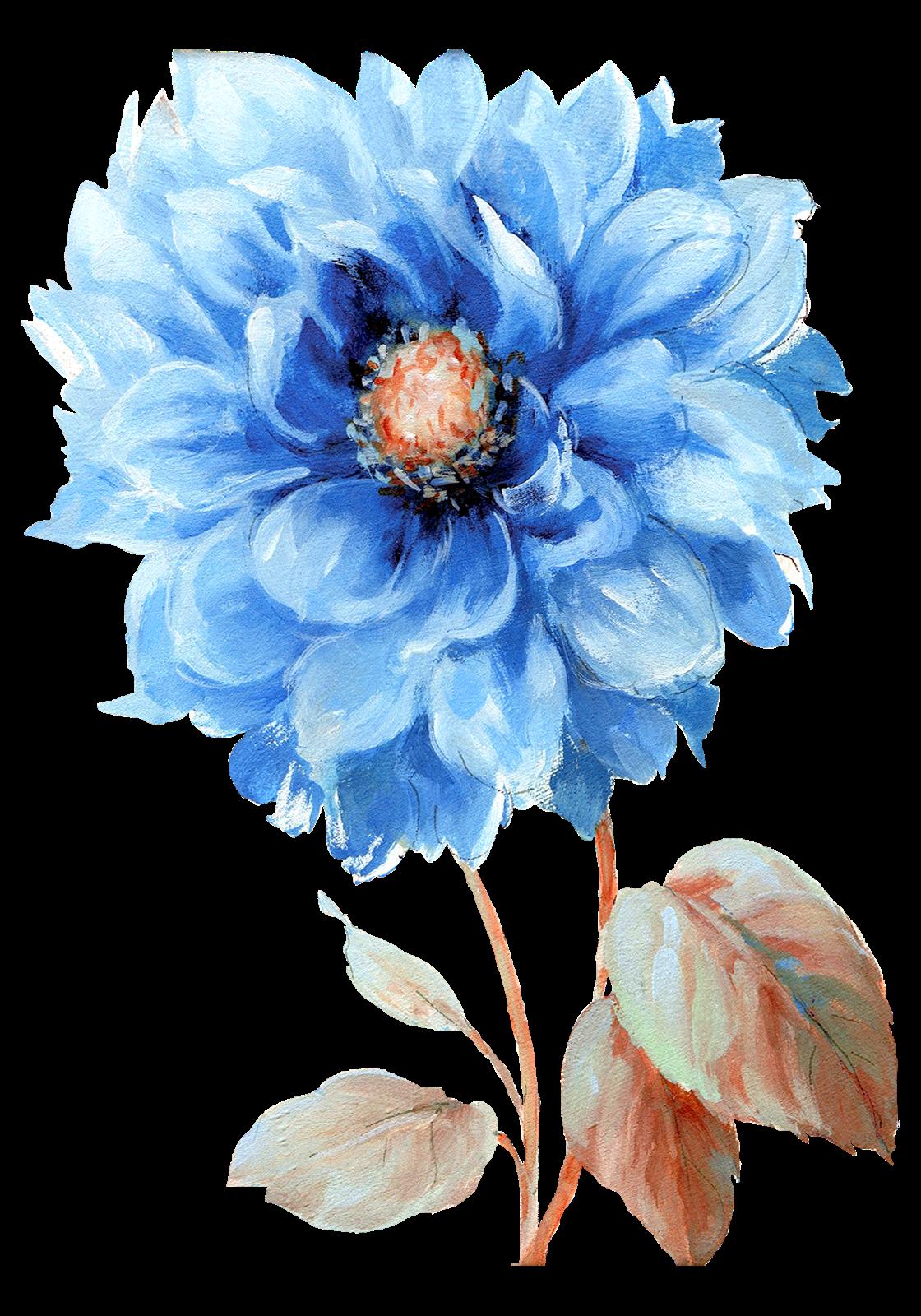 Textile Designer adlı kullanıcının Çiçekler_El Boyama_PNG ...