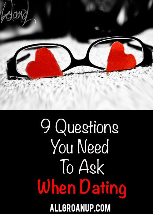 Questions not to ask when dating