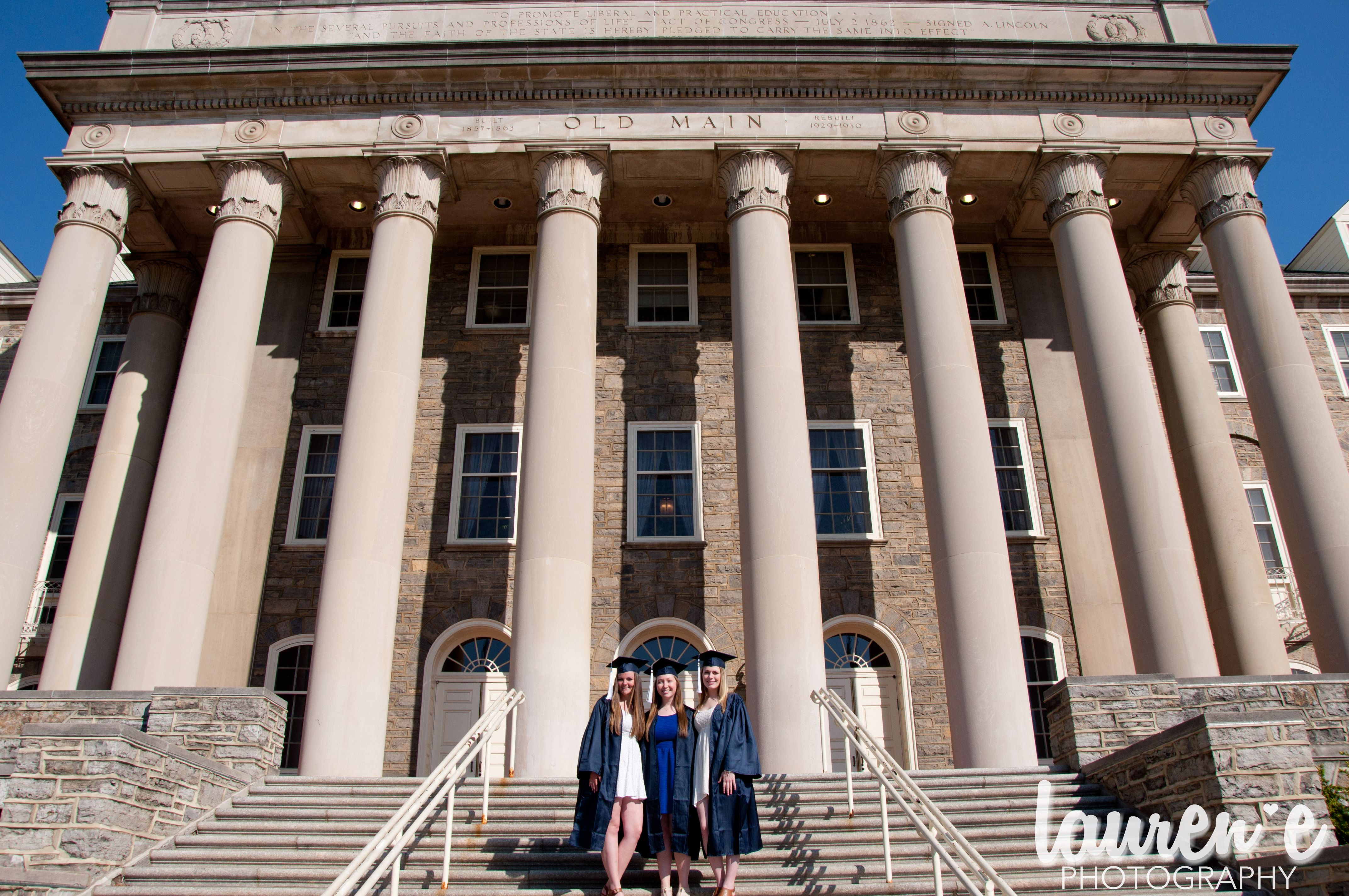 Graduation Penn State University Photography, Penn