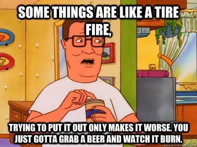Hank Hill On Pms King Of The Hill Pinterest Memes Fire And