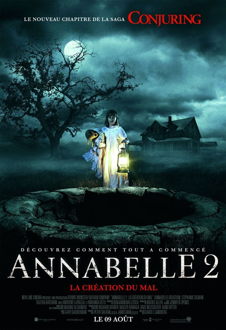 Annabelle Two La Creation Du Mal Regarder Film Complet Streaming Free