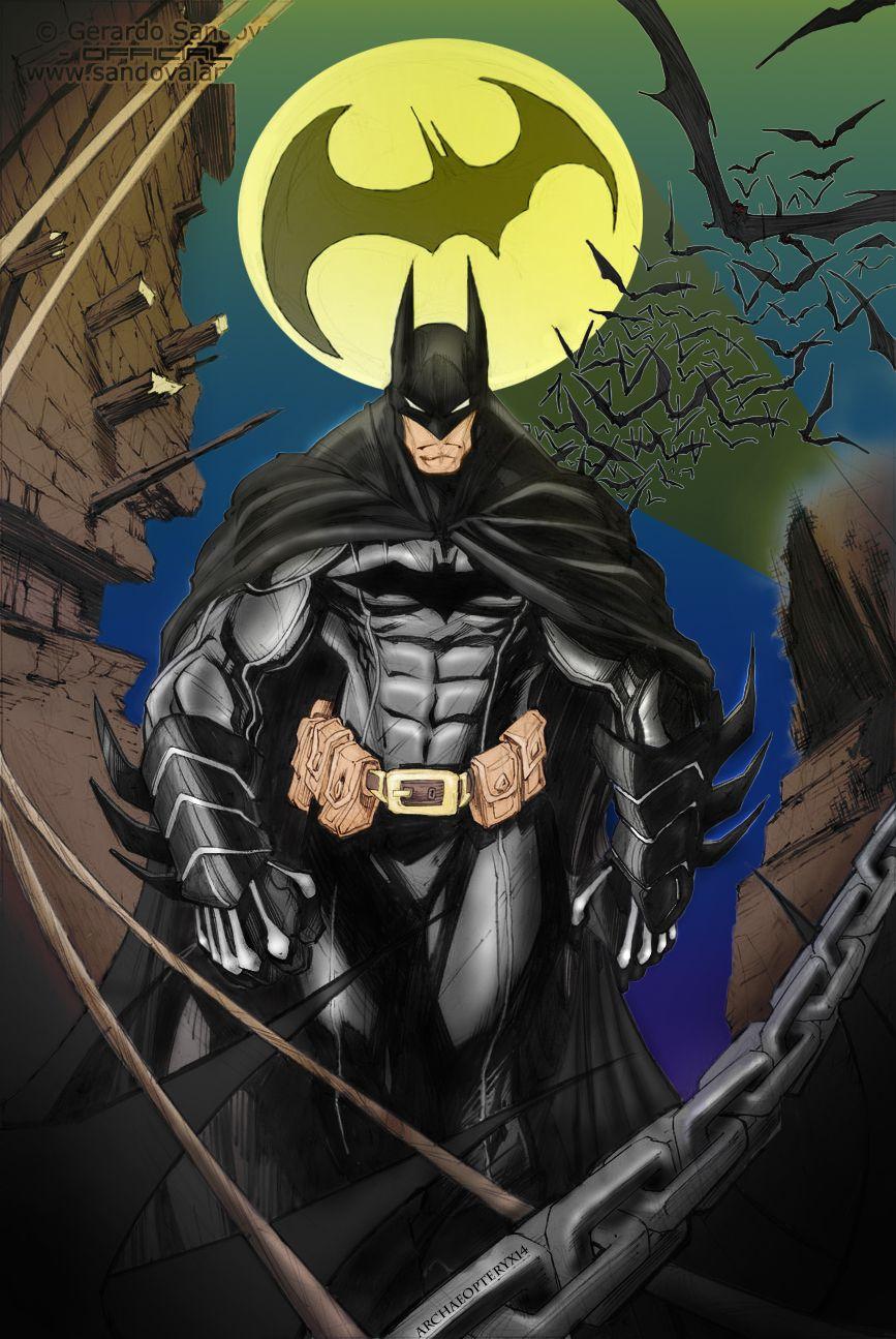 Batman by Archaeopteryx14.deviantart.com on @deviantART