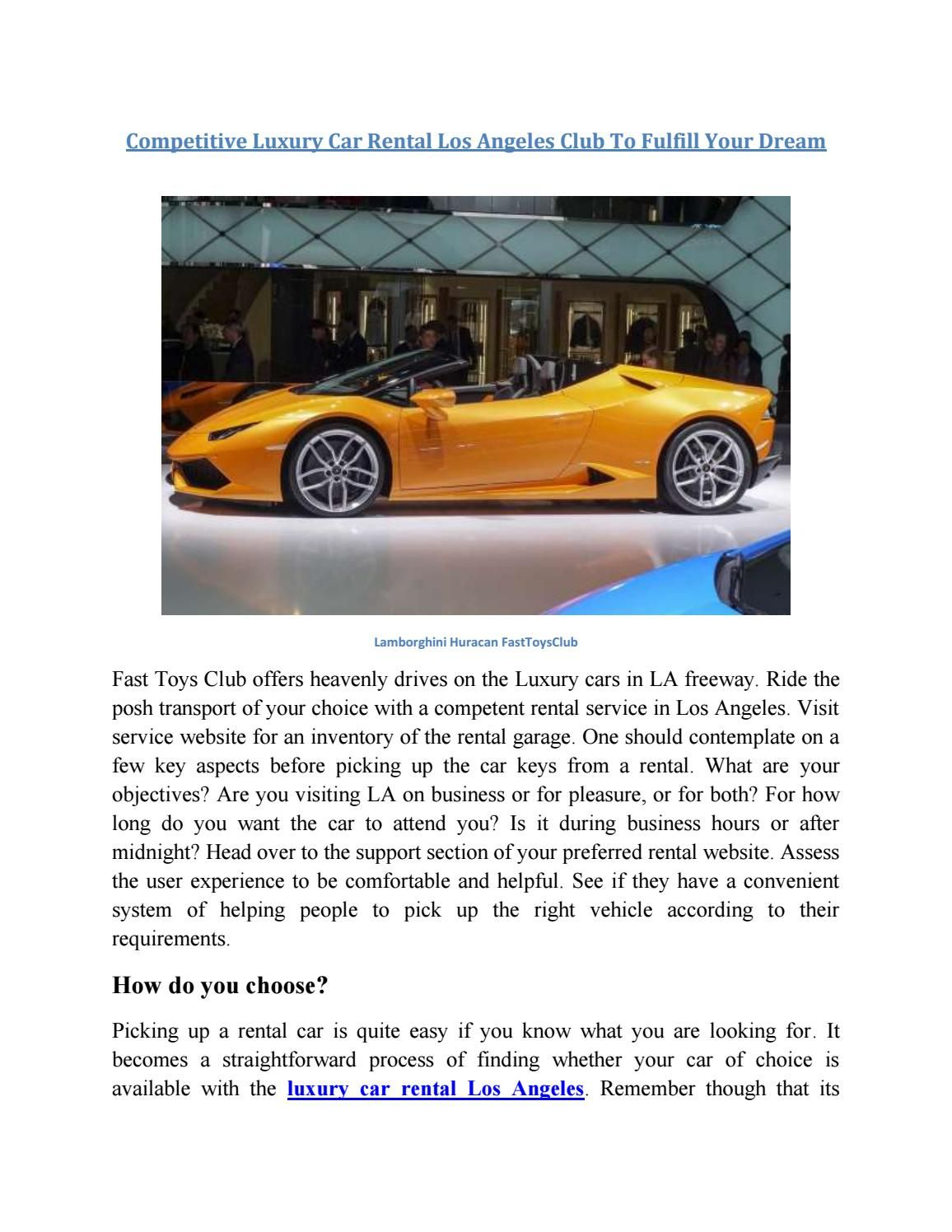 Pin On Exotic Cars Rental