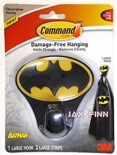 Command™ Brand Large Batman™ Hanging Hook Holds Strongly - Removes Cleanly