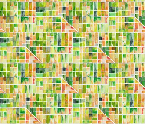 Green Countryside fabric by karokarolinko on Spoonflower - custom fabric
