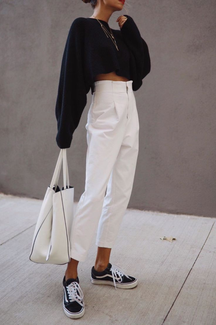 15+ minimalist outfits for spring black and white minimalist outfit , 15+ Minimalistic Outfits For