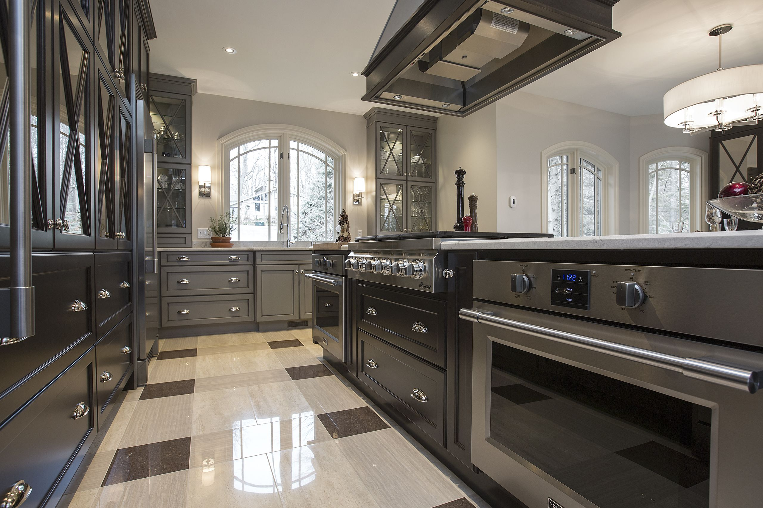 Custom Kitchen Built By Progressive Kitchens Inc Design By 44 N