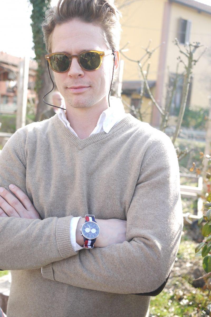 8fb5ef1281d Mathias Bosson Milan Wearing Blonde Moscot Lemtosh Sun