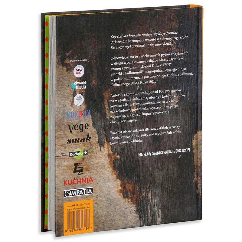 Jadlonomia Kuchnia Roslinna Books Book Cover Cooking