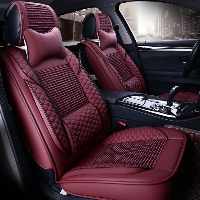 Summer Breathable Leather Seat Covers For Lexus Ct200h Isc Es300h 350 Ls Gs 300h Cth Lx Cool Leather Seat Covers Car Interior Accessories Interior Accessories