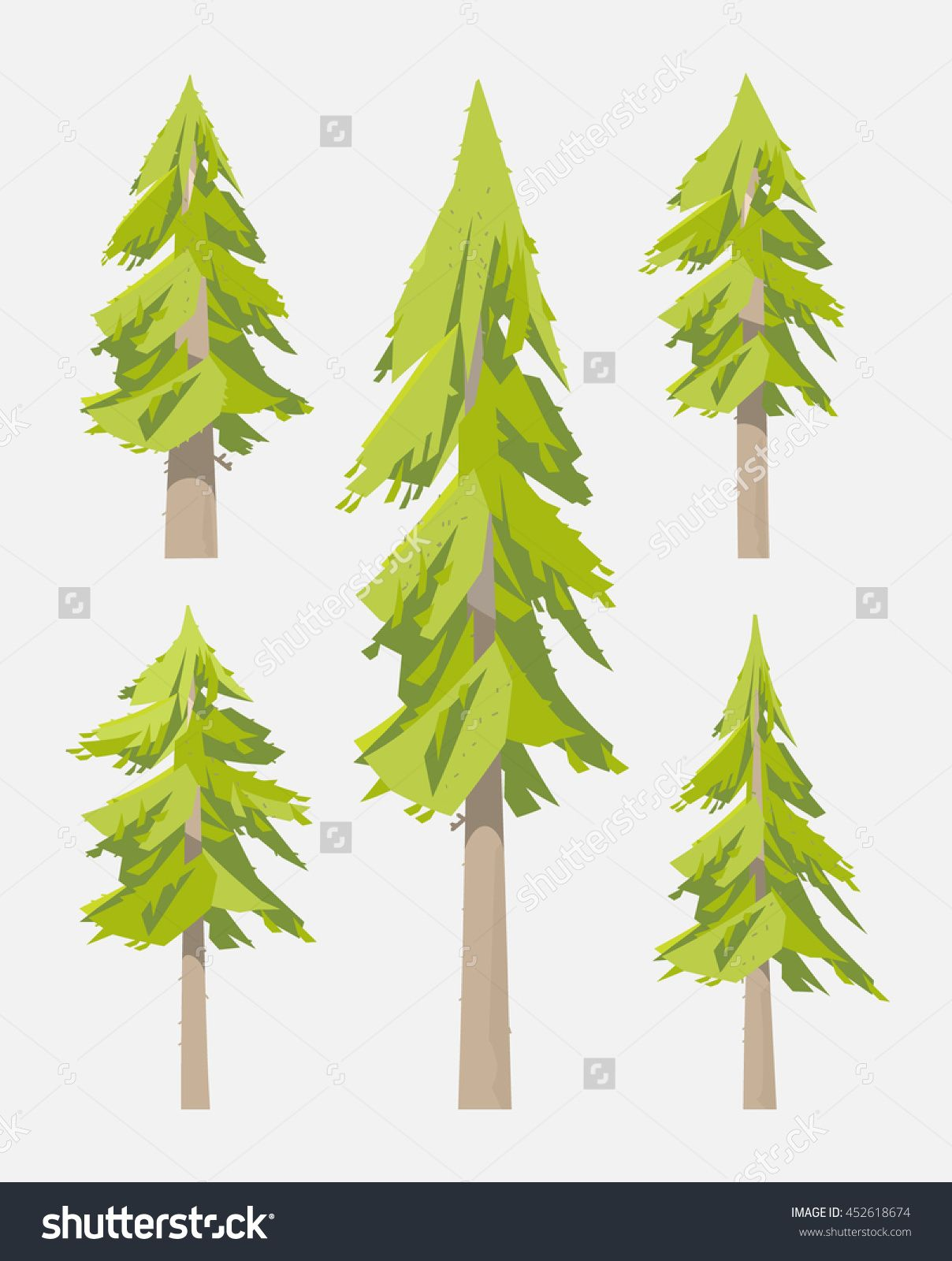 Spruce Set The Fir Tree Forest A Set Of Pine Trees Fir Grove A Thorn Tree Branches With Needles Pine Val Tree Illustration Cartoon Trees Pine Tree Tattoo We have collected 49+ original and carefully picked cartoon pine tree cliparts in one place. pinterest
