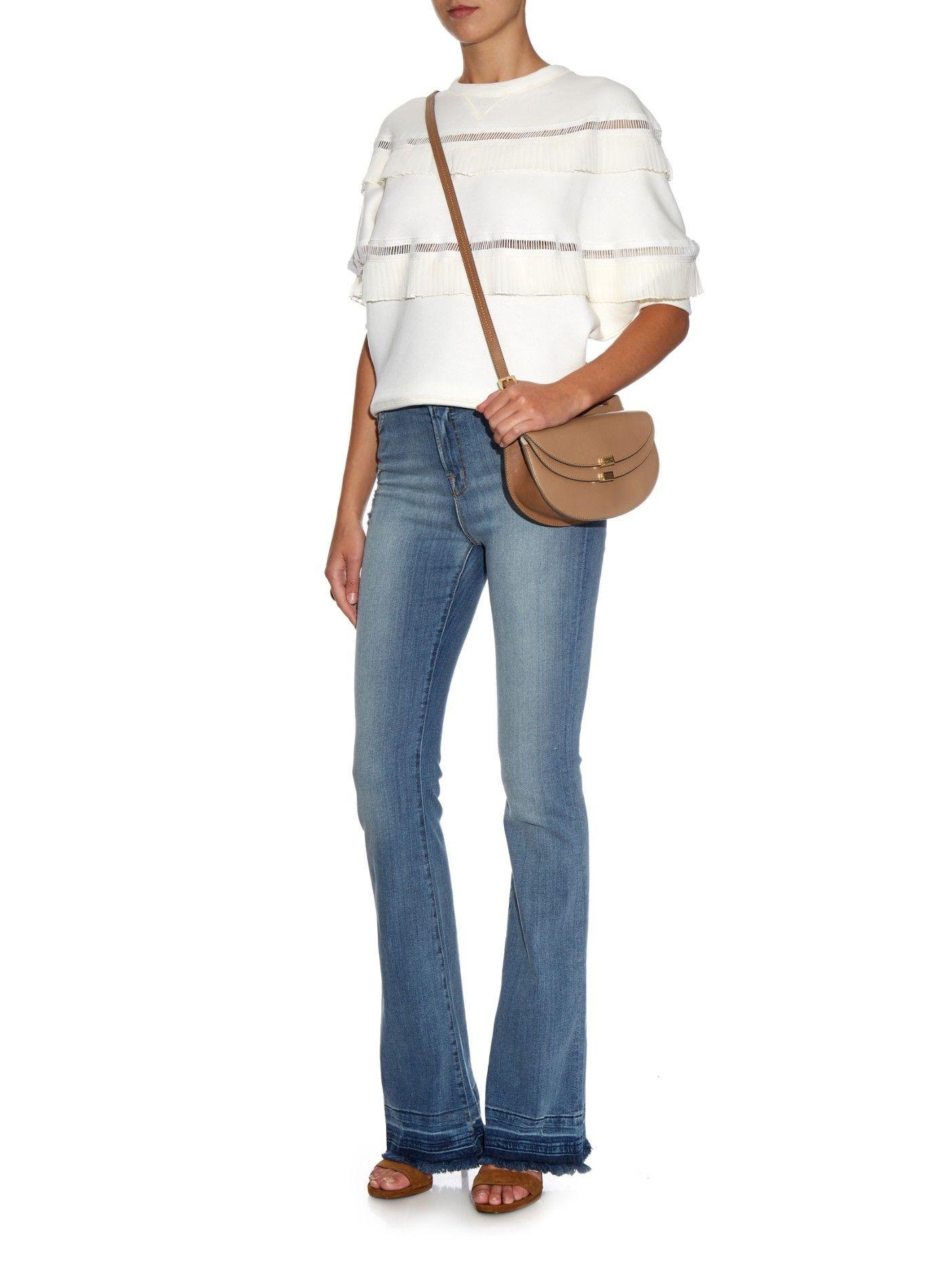 Maria high-rise flared jeans | J Brand | MATCHESFASHION.COM