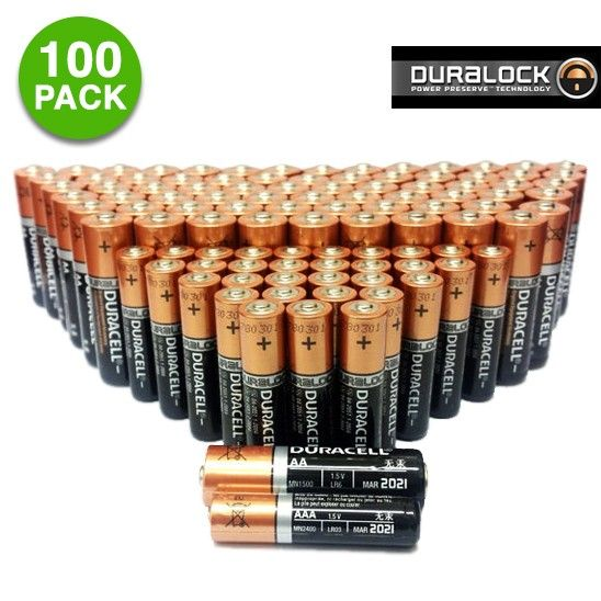 100 Pack Duracell Coppertop Duralock Alkaline Batteries Aa Or Aaa Giveaway Contest Giveaway Sweepstakes Giveaways