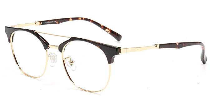 d18801b40b Firmoo Classic Metal Round Customized Prescription Blue Light Blocking  Glasses Tortoise Review