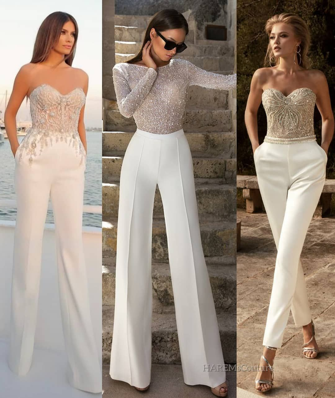 """The Perfect Wedding On Instagram: """"Bridal #JumpSuits! 😍 1"""