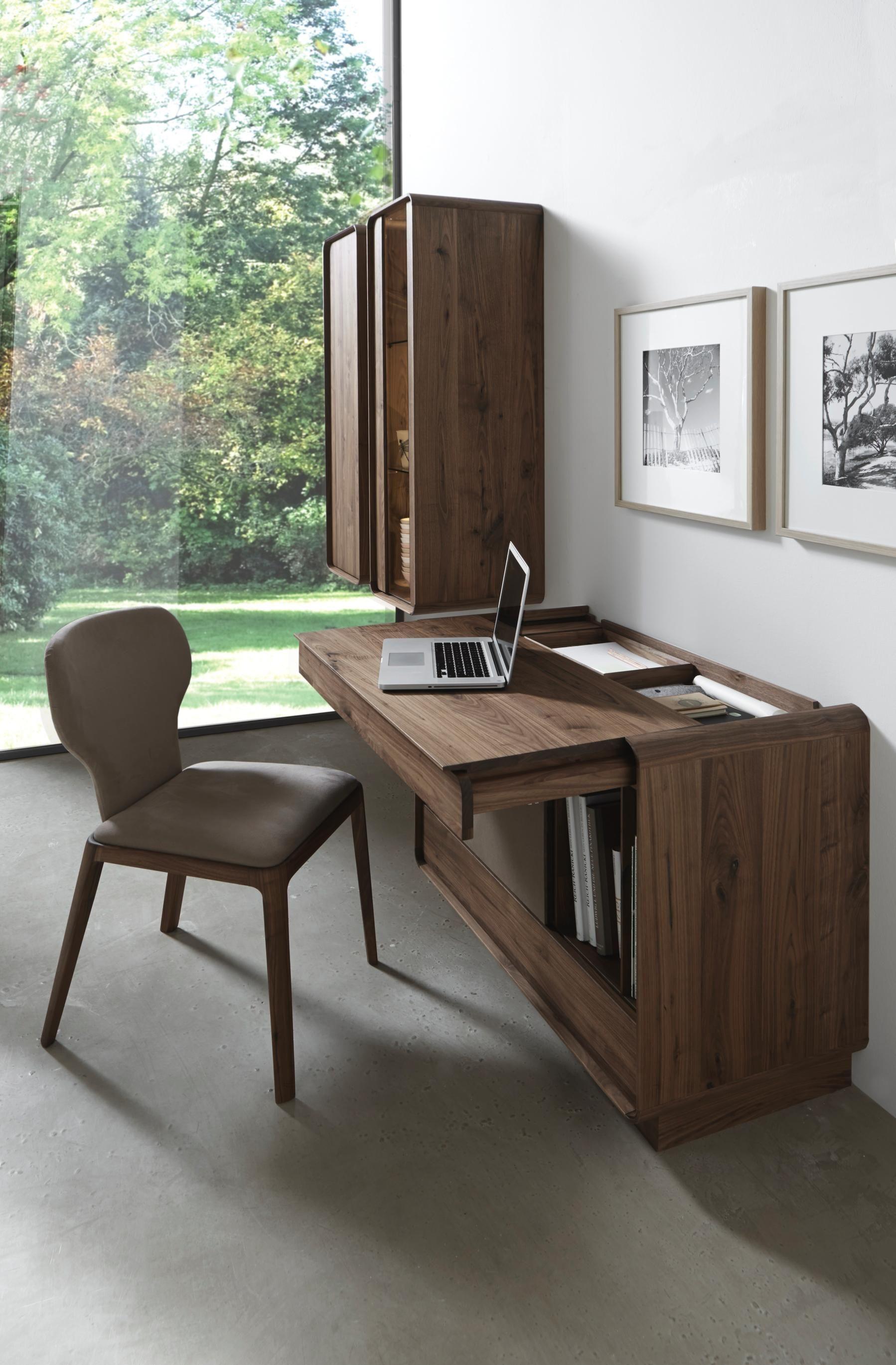 sekret r in nussbaumfarben von valdera arbeitszimmer pinterest sekret rin schreibtische. Black Bedroom Furniture Sets. Home Design Ideas