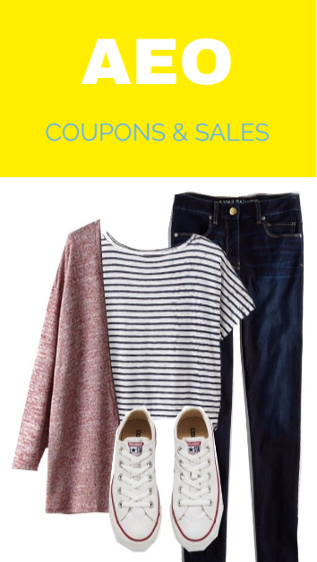 2c5359a6f0b Find today best American Eagle Coupons, Promo Codes, Coupon Codes, Free  Shipping and