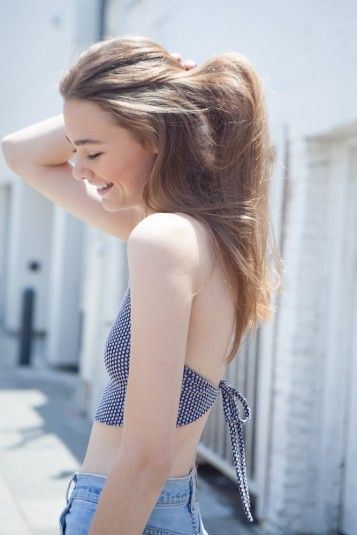 Brandy ♥ Melville | Anastasia Halter - Tops - Clothing