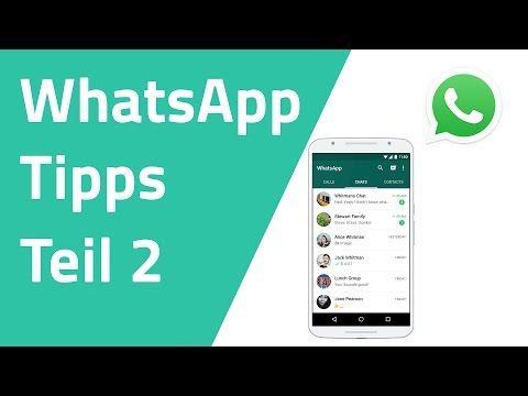 Whatsapp Tipps Tricks Praxis Tipp Deutsch Chip Youtube Whatsapp Tipps Tipps Und Tricks Whatsapp Tricks
