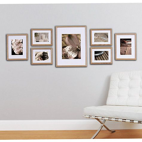 Buy Gallery Perfect Frame Set Online at johnlewis.com £55 Four 6 x 8 ...
