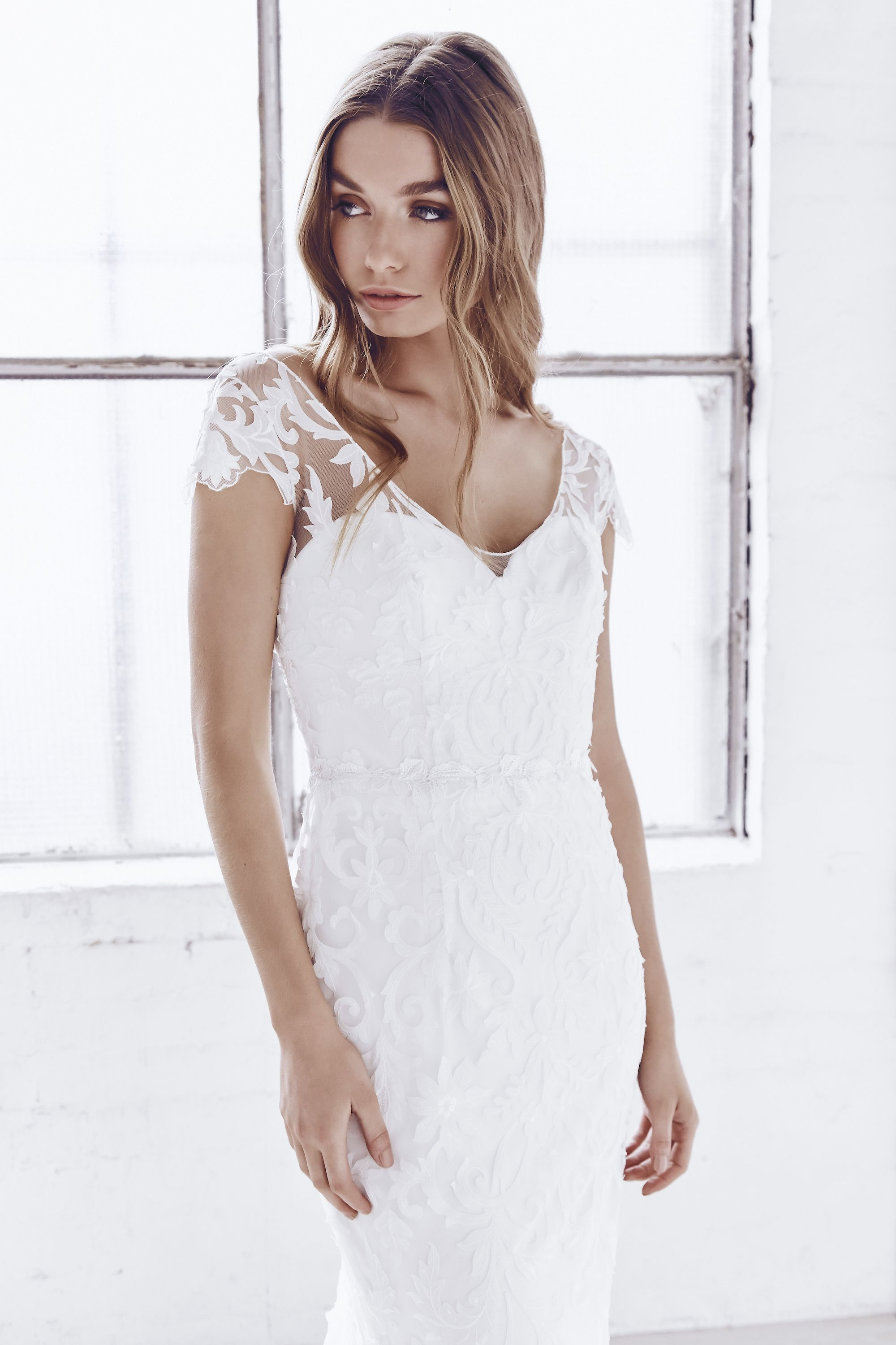 Anna Campbell bridal Ceremony Collection. Windsor dress in ivory ...